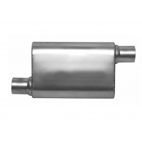Performance 4 In. X 9 In. SS409 Oval Exhaust Muffler