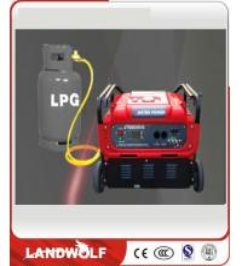 Fuel Cell Engine Generator Controller LPG Gas Digital Inverter Generator Sets