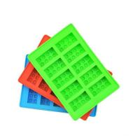 Eco-friendly Soft Custom Color Logo Special Silicone Ice Tray homemade ice cream rolls maker ice cube tray Manufactures