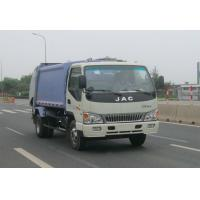 CIMC Waste Management Roll Off Truck High Strength JAC 6000L Volume Compression Manufactures