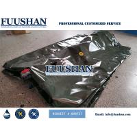 China Fuushan Portable and Flexible Water Storage Bladder Tank Tarpaulin Roll on sale