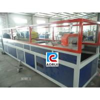 WPC Lounge Plastic Profile Production Line , WPC Settee Plastic Profile Extrusion Line Manufactures