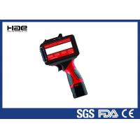 Red U2 Mobile Handheld Inkjet Coder For Batch Number / Variable Bar Code Manufactures