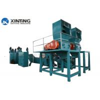 Waste Plastic Film Recycling Machine , PP PE Film Washing Line Hot Air Drying System Manufactures