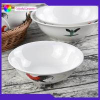 Quality Vintage Porcelain 7 Inch Handmade Ceramic Bowls Customized Food Contact Safe for sale