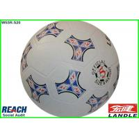 Small Rubber Footballs Size 2 / Size 3 , PVC PU TPU Flag Soccer Ball Manufactures
