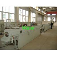 China Spiral Foamed PVC Pipe Extrusion Line With Double Screw Extruders Co-Extrusion on sale