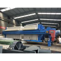 100/1000 chamber automatic filter press used in sand washing plant of Langdong Manufactures
