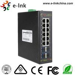 Managed Ring protocol 8-port 10/100/1000BASE-T + 4-port 10G SFP Ethernet Switch Manufactures