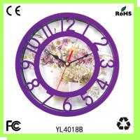 China Plastic gift clock/wall clock/promotion clock on sale