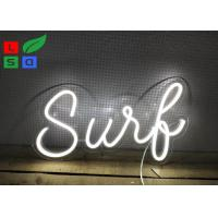 Promotion Beer Slogen Illuminated LED Neon Signs Custom For Various Color Manufactures
