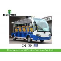 Colorful 11 Passengers Electric Shuttle Bus Electric Vehicle Powered By 6V Batteries Manufactures