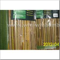 China Garden bamboo fencing -wire lines woven outside on sale