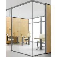 China Modern 45mm# A8-03 glass office partition on sale