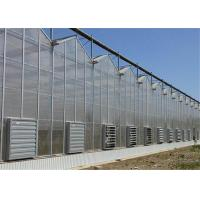 China 50 Micron UV Thickness PC Sheet Greenhouse Customized Length Clear Color on sale