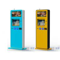 MultiFunction Indoor Stand Alone ATM Kiosk , Cold Roll Sheet Kiosk Manufactures
