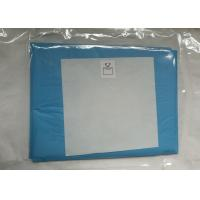Basic Ophthalmic Sterile Surgical Drapes , Eye Film Adhesive Drapes Surgical Manufactures