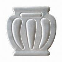 Elegant Hot-stamped Flowerpot, Cost-effective Wrought Iron Elements for Iron Works Manufactures
