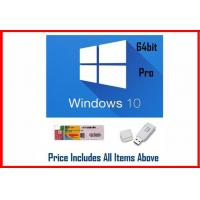 Quality Win 10 Pro OEM Software / Windows 10 Product Key Code 64 Bit With DVD for sale