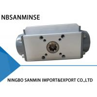 AT Double Action Pneumatic Valve Actuator Aluminium Alloy Body ISO9001 Certification Manufactures