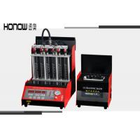 6 Cylinders Fuel Injector Tester Cleaner Machine 250W Input Power Manufactures