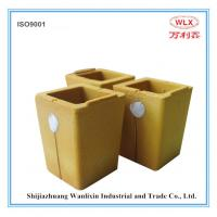 Square type carbon cup for foundry use Manufactures