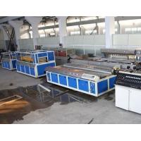 Double - Screw PVC Wood Plastic Board Production Line For Window Profile Manufactures