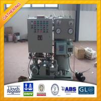 MED Approval 1.0m3/h Oil Water Separator Manufactures