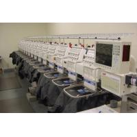 Industrial computerized Multi-heads Flat Embroidery Machine Manufactures