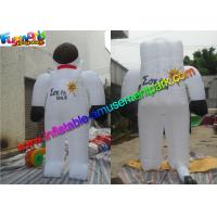 Popular Inflatable Astronaut Model , Advertising Inflatable Spaceman Customized for sale