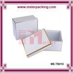 Garment storage box, delicate custom paper hat box ME-TB015 Manufactures