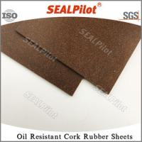 China oil resistant rubber cork gasket material sheets -Nitrile on sale