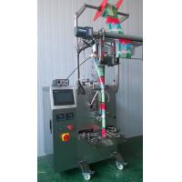 Automatic Liquid Sachet  VFFS Packing Machine For Jelly / Juice / Milk Manufactures