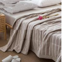 China 2018   Fall Soft Quilt Blanket For Home / Hotel Bedding Environment Friendly on sale