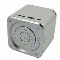 USB Rechargeable Portable Mini Speaker/Micro-SD Card with Standard 3.5mm Audio Plugs Manufactures