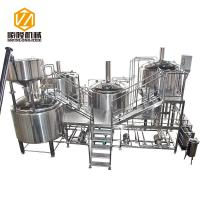 China Automatic Beer Production Line 30HL PLC Control Four Vessels Brewhouse on sale