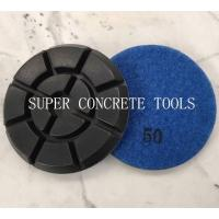 China 100mm Hybrid Concrete Floor Transitional Resin Polishing Pads on sale