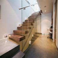 Build Floating Stair with glass wall Manufactures