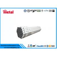 1 '' Dia SCH80 Hot Dip Galvanized Tube ASTM A333 GR. 6 For Power Plant Manufactures