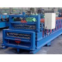 380V Double Layer Roll Forming Machine , Roofing Sheet Roll Forming Machine Manufactures