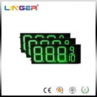 IP54 Rear Waterproof RF Controller LED Gas Station Price Signs 12 Inch Manufactures