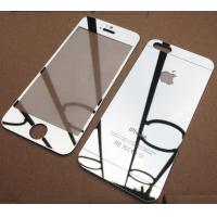 Front And Back For Iphone 5s Tempered Glass Mirror Screen Protector  ,Factory Price Manufactures