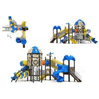Amusement Park Attractive Custom Playground Slides 5 - 10 Kids Capacity Manufactures