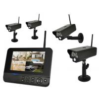 4 Channel Wireless Security System With Camera Waterproof Night Vision Manufactures