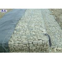 China Stone Gabion Retaining Wall For River Flood Control COC Certification on sale