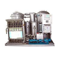 2.5 KW Commercial Screw Pump  Hydraulic Oil Water Separator 5 M3/H For School Manufactures