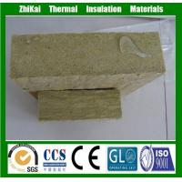 External wall water repellent rock wool insulation board for R value of wool