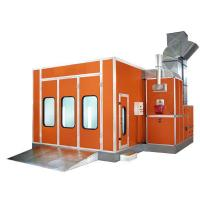 Professional Infrared Paint Bake Oven , Portable Spray Paint Booth Manufactures