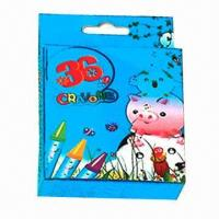 36-color Crayons, Made of Wax, Nontoxic, Smudge-proof Manufactures