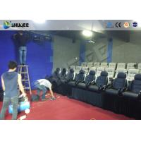 Multi Person Interactive 7D Movie Theater With Unique Interactive Shooting System Manufactures